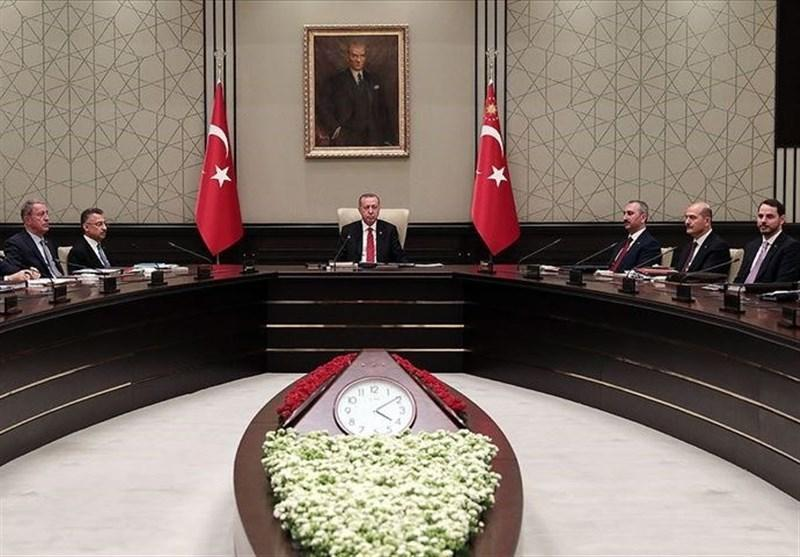 تصمیمات شورای عالی امنیت ملی ترکیه در مورد سوریه
