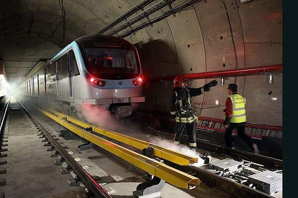 مرگ کارگر مترو در برخورد با قطار