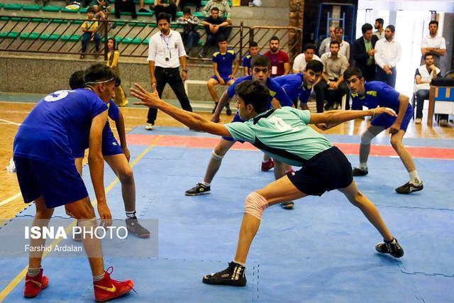 دومین پیروزی تیم ملی کبدی ایران در قهرمانی آسیا