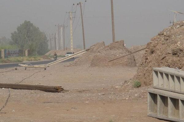 طوفان برق 12 روستا را قطع کرد